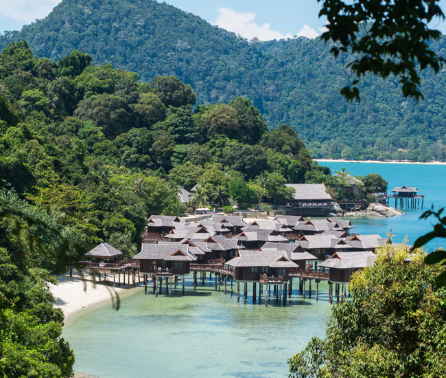 Accommodation At Pangkor Laut Resort